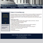 Federal Criminal Discovery website